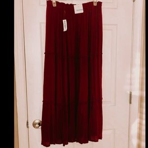 New with tags boho old navy skirt.